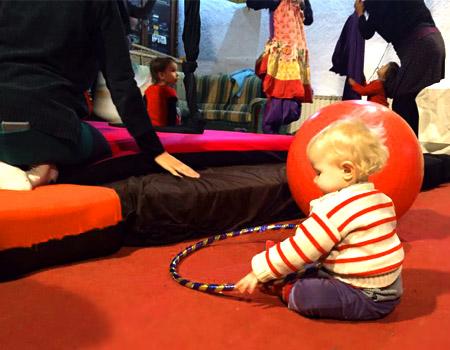 Escola de Circ per a nenes i nens de 1 a 3 anys