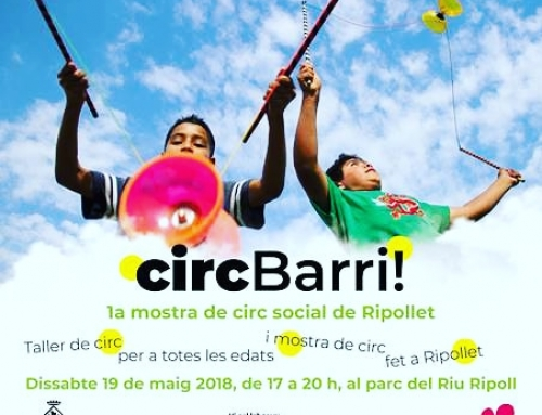 Ripollet celebrará la primera Muestra de Circo Social